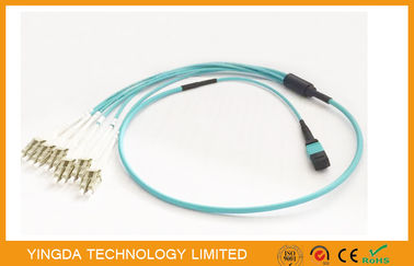China 100G de Kabel van QSFP MPO MTP fabriek